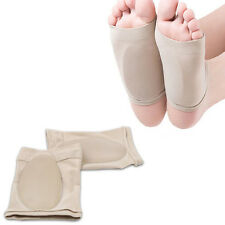 Gel Plantar Fasciitis Arch Support Sleeve Arch Sock Heel Cushion Foot Pads Patch