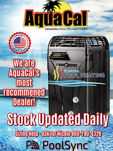 AquaCal T90 Swimming Pool & Spa Heater - 96K BTU Unit