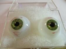 30 mm Antique Brown Hand blown Glass Eyes 13.5 mm Iris Doll Mannequin   P3