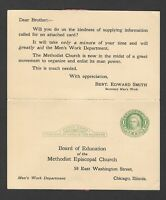 Board of Education of the Methodist Episcopal Church Postcard Chicago Illinois