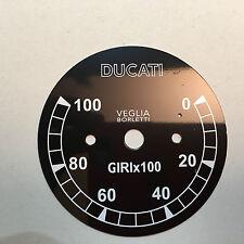 Fondo scala per conta giri  VEGLIA per Ducati Scrambler 250 - 350 - 450 rpm10000