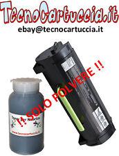 Kit di Ricarica Toner per Lexmark 60F2000 MX310DN MX 310 DN MX310 D N