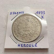 Pièce de 5 F Hercule 1873 K