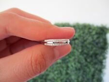 .12 Carat Diamond White Gold Half Eternity Ring 18k HE108 PRE-ORDER sep *