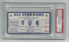 1936 All Star Game Ticket - PSA Authentic - Fantastic Condition