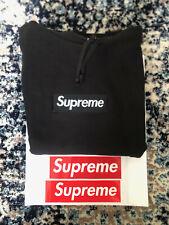 Supreme Box logo Hoodie Black FW16 Large