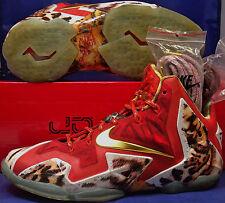 2014 Nike Lebron XI 11 Premium 2K4 SZ US 7 ( 650884-674 )