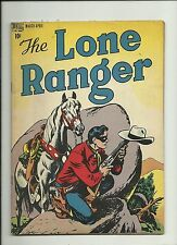 LONE RANGER #2 1948 DELL COMICS  GOLDEN AGE  TONTO  SILVER  NICE  SOLID FN/VF