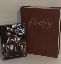 Firefly -A Celebration -Joss Whedon ( Hc, 9 Rare Photos-9.5�x 7) & Series Dvd's