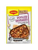 Maggi Devilled Sausages 37gm x 15