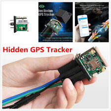 Hidden Tracking Car Relay GPS Tracker Anti-theft Alarm Device Monitoring System