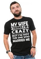 Mens Funny T-shirt Gift for Husband Anniversary Birthday Christmas Gift Tee