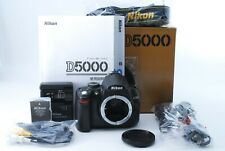 Nikon D D5000 12.3MP Digital SLR Camera - Black (Body Only) w/ Box  #723243