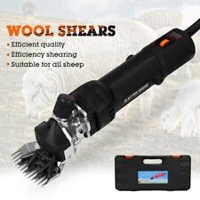 220V Electric Sheep Shearing Machine Clipper Shears Cutter Wool Scissors Tool