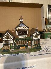 Dept 56 Dickens Village Series 2000 Burwickglen Golf Clubhouse 58477 Retired