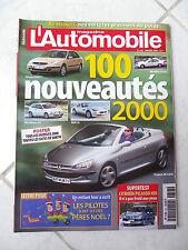 Magazine L'Automobile 643 Citroen Xsara Picasso HDi Viper GTS Ford F150 Clio 16v