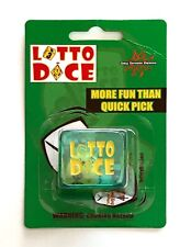 Day Dream Games Lotto Dice - Novelty Dice for Picking Lottery Numbers NEW!