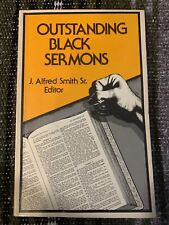 Outstanding Black Sermons J. Alfred Smith Sr. Editor 1976 USA Trade Paperback