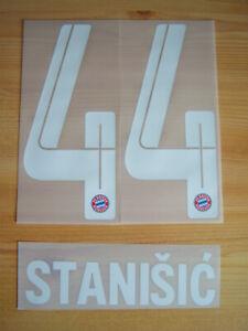 FC Bayern München orginal Flock Stanisic 44 Home 2021/22 Kids Gr.128 bis 164 NEU
