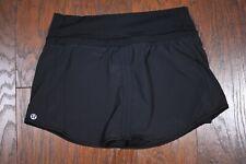 Lululemon Run: Pace Skirt Black Sz Women's 2