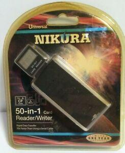 Nikura 50-in-1 Card Reader/Writer
