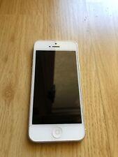 Apple iPhone 5 - 16GB - White & Silver. Verizon Wireless