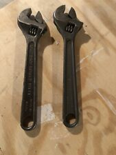 Vintage Crescent Tool Co. Adjustable Wrenches