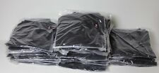 Lot of NEW Black Chef Shirt Short Sleeved Kitchen Catering Uniforms Sizes- S M L
