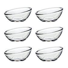 PASABAHCE 53952 gastroboutique OVALE cuisine Ensemble de 6 mini bol en verre