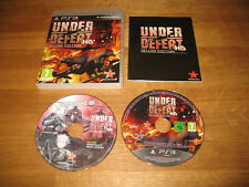 PS3 game - Under Defeat HD Deluxe Edition (rare complete PAL)