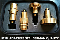 M10 LPG GPL  Adapters Set FOR ALL Europe OF 4 TRAVEL KIT GERMAN QUALITY
