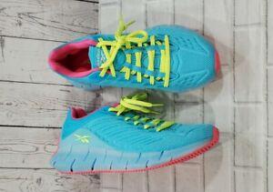 Reebok Zig Kinetica Running Sneaker Aqua FW7153 MENS SIZE 7 WOMENS SIZE 8.5