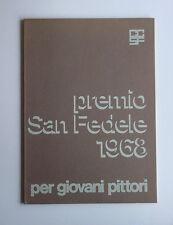 Premio San Fedele 1968 per giovani pittori Galleria San Fedele 1968