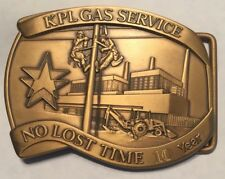 KPL Gas Service Belt Buckle Limited Edition 10 Year