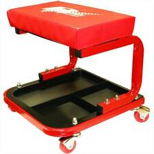 Rhyas Mechanics Seat Padded Stool Tray Creeper Garage Workshop Free Delivery