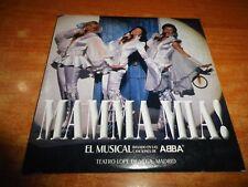 MAMMA MIA BANDA SONORA DEL MUSICAL ABBA EN ESPAÑOL CD SINGLE PROMO ESPAÑA CARTON