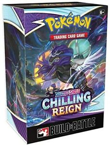 Pokémon TCG: Sword & Shield 6: Chilling Reign Build and Battle Kit