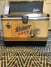 New Shiner Bock Igloo Cooler