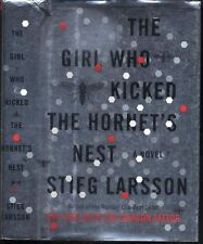 The Girl Who Kicked The Hornet's Nest Larsson Salander book HC DJ 1st US Edition