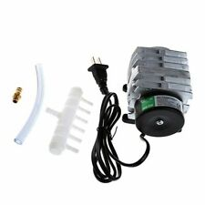 Aquarium Fish Tank Electromagnetic Air Compressor High Flow Aerator Oxygen Pump