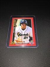 Mike Trout 2010 Minor League Cedar Rapids Kernels Rookie Card Red