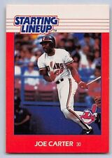 1988 Joe Carter - Kenner Starting Lineup Card - Cleveland Indians