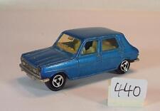 Majorette 1/60 Nr. 234 Simca 1100 blaumetallic Nr. 4 #440