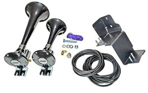 Kleinn Automotive Air Horns JL220 Train Horn Kit Fits 18-19 Wrangler (JL)