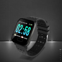 Smart Watch Heart Rate Blood Pressure/Oxygen Monitor Fitness Tracker Bracelet