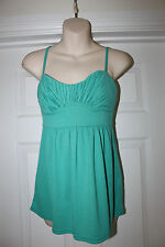 Ladies Green H&M Top Size XS Strappy Summer Vest