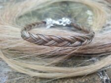 Horse Hair Bracelet made from your own Horse's tail.  Memento / Keepsake