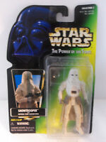 1997 Star Wars Power of The Force Imperial Snowtroooper on Opened Card NO Gun