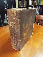 1815 KJV Bible Published Hitt and Ware - Methodist Connection in the US - NY