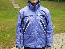 Obermeyer Ridgeline Junior Sz 14 Blue/Black/White Ski Jacket Weather 4X System